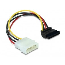 Delock Kabel Power SATA HDD > 4pin Stecker – gewinkelt