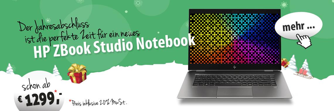 HP ZBook Studio Notebooks