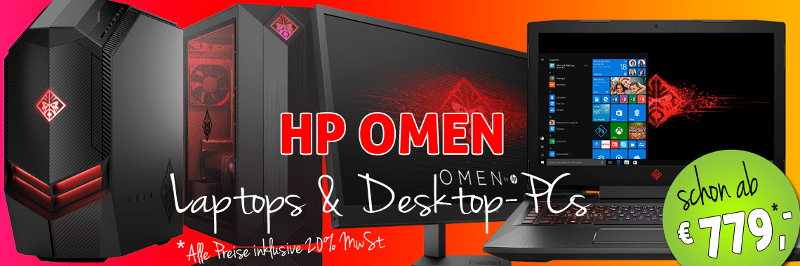 HP Omen PC-Systeme